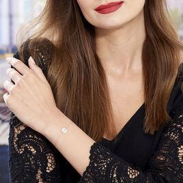 Bracelet Roxanne Or Jaune - Bracelets Coeur Femme   Histoire d'Or