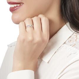 Bague Gaxia Or Blanc Diamant - Bagues solitaires Femme | Histoire d'Or