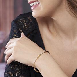 Bracelet Chelsee Plaque Or Jaune Oxyde De Zirconium - Bijoux Femme | Histoire d'Or