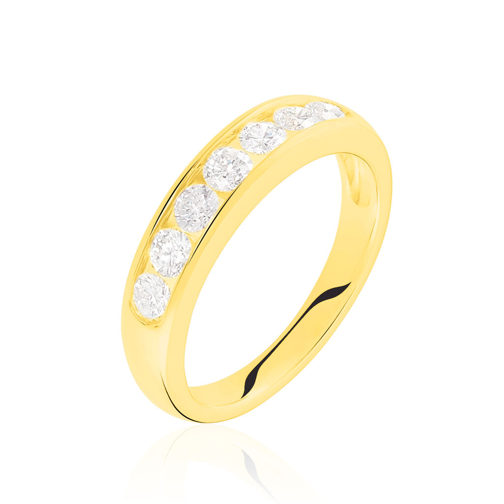 Alliance Giulia Or Jaune Diamant - Alliances Femme | Histoire d'Or