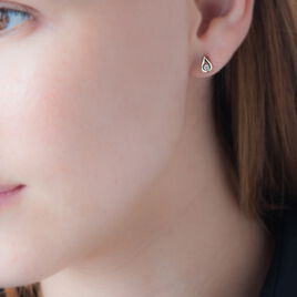 Boucles D'oreilles Puces Purete Or Jaune Diamant - Clous d'oreilles Femme | Histoire d'Or