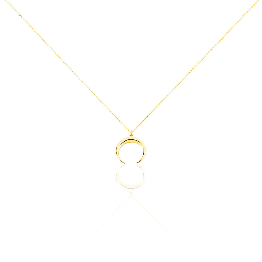 Collier Sergeline Or Jaune - Colliers Lune Femme | Histoire d'Or