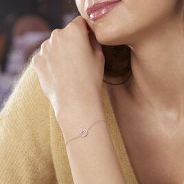 Bracelet Absolu Or Bicolore Diamant - Bijoux Femme | Histoire d'Or