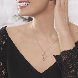 Collier Melaine Argent Blanc - Colliers fantaisie Femme | Histoire d'Or