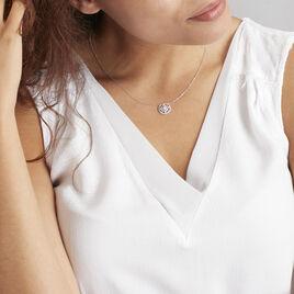 Collier Arroxa Or Blanc Diamant - Bijoux Femme | Histoire d'Or