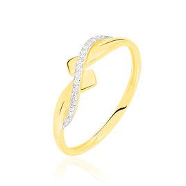 Bague Beata Or Jaune Diamant - Bagues avec pierre Femme | Histoire d'Or