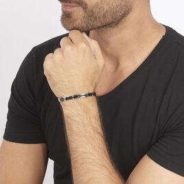 Bracelet Tim Acier Blanc - Bracelets fantaisie Homme | Histoire d'Or