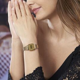 Montre Casio Collection Vintage Champagne - Montres Femme   Histoire d'Or