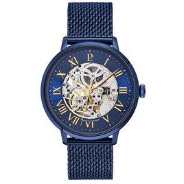 Montre Pierre Lannier Collection Automatic Bleu - Bijoux Coeur Homme | Histoire d'Or