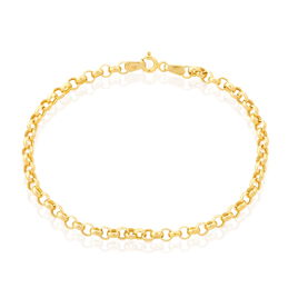 Bracelet Elviaae Or Jaune - Bracelets chaîne Femme | Histoire d'Or