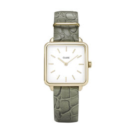 Montre Cluse La Tetragone Blanc - Montres tendances Femme   Histoire d'Or