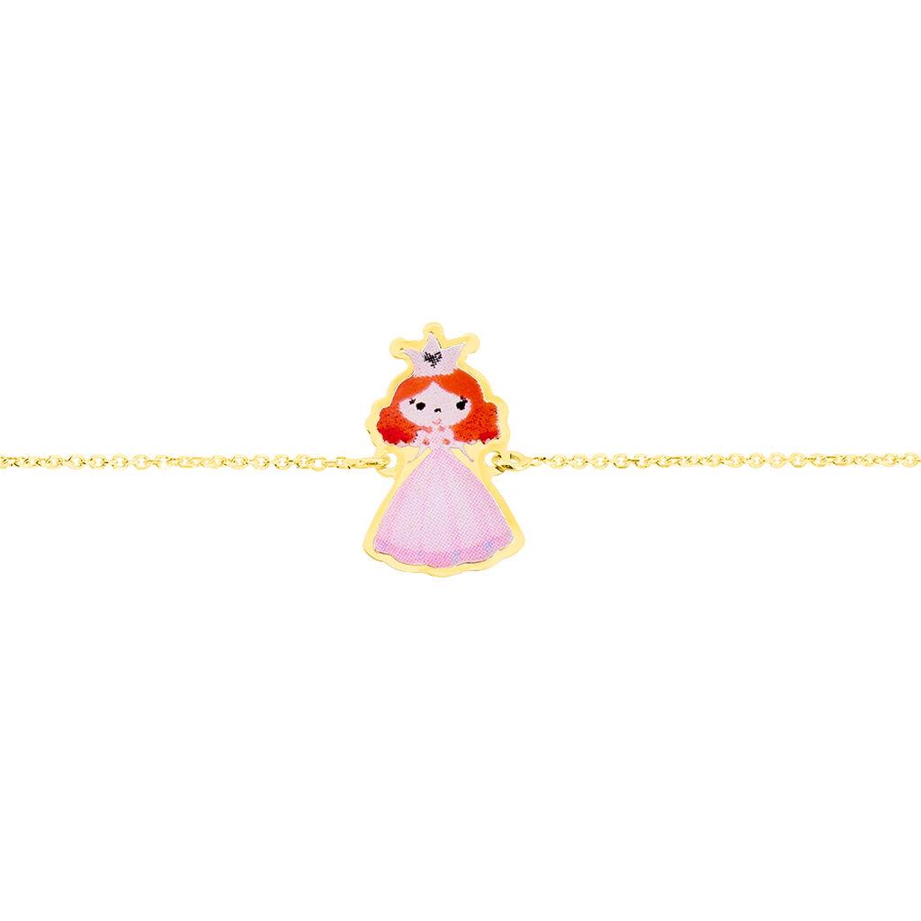 Bracelet Fantasila Princesse Or Jaune - Bracelets Naissance Enfant | Histoire d'Or