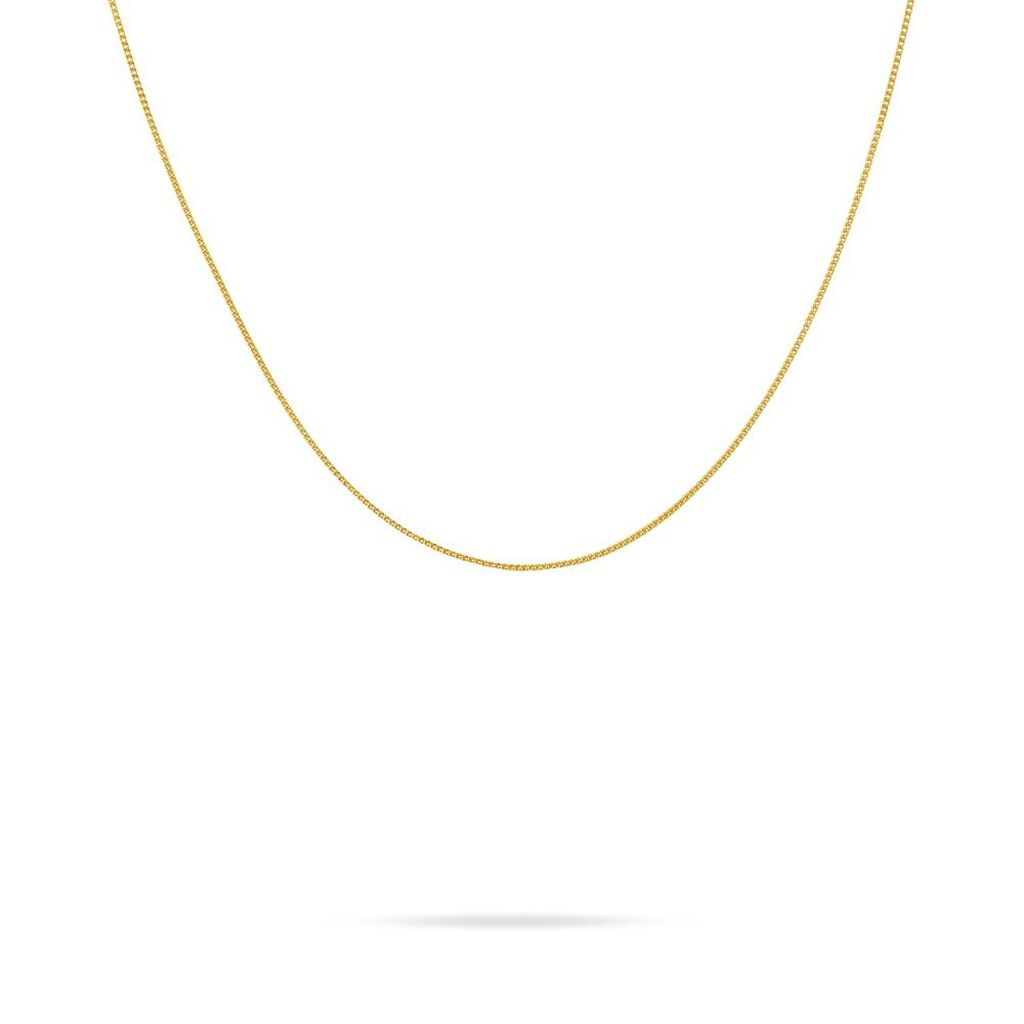 Chaîne Iris Maille Gourmette Or Jaune - Chaines Femme | Histoire d'Or