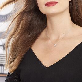 Collier Elenza Argent Blanc - Colliers Etoile Femme | Histoire d'Or