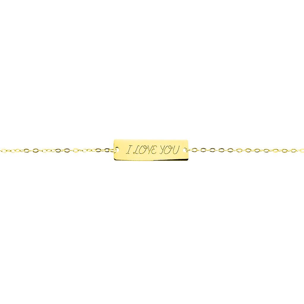 Bracelet Dona Or Jaune - Gourmettes Femme | Histoire d'Or