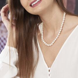 Collier Sameira Or Jaune Perle De Culture - Sautoirs Femme | Histoire d'Or