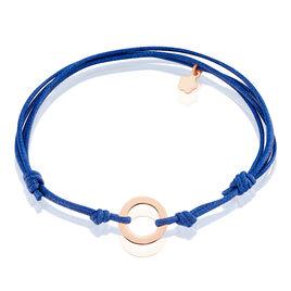 Bracelet Hidayah Argent Rose - Bracelets cordon Femme | Histoire d'Or