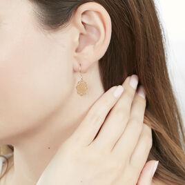 Boucles D'oreilles Pendantes Jovita Or Jaune - Boucles d'oreilles pendantes Femme | Histoire d'Or