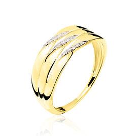 Bague Grasiella Or Jaune Diamant - Bagues avec pierre Femme | Histoire d'Or