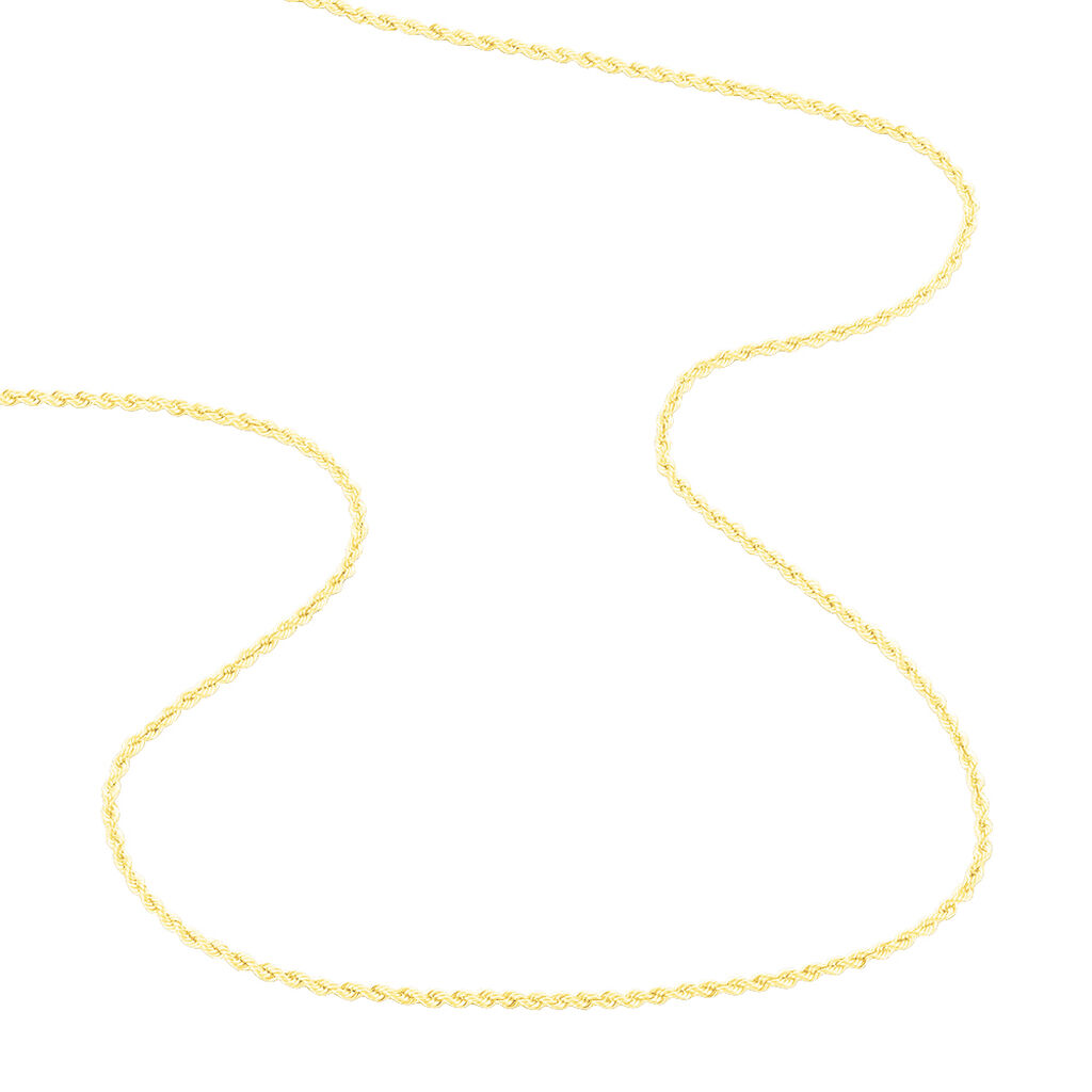 Collier Jerry Maille Corde Or Jaune