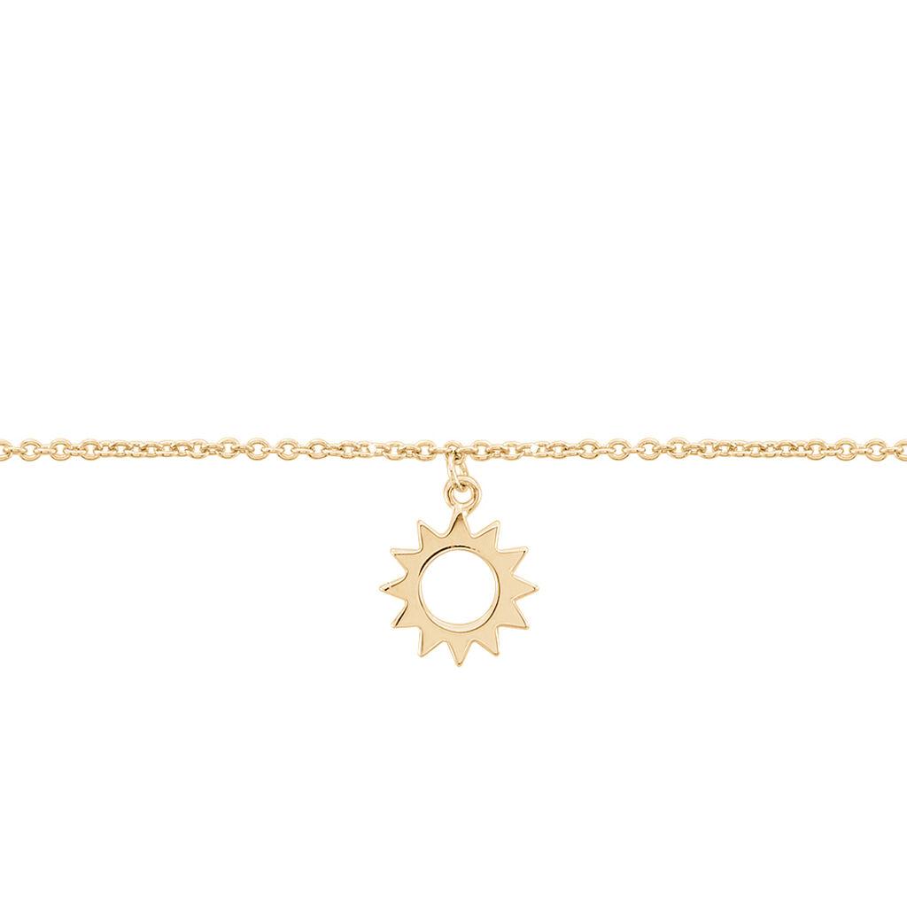 Chaine De Cheville Plaque Or Ilef Pampille Etoile - Bijoux Etoile Femme | Histoire d'Or