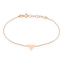 Bracelet Trilia Argent Rose - Bracelets fantaisie Femme   Histoire d'Or