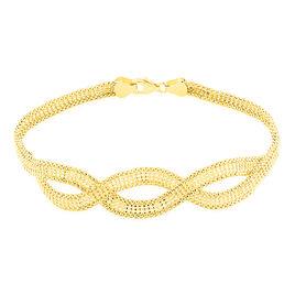 Bracelet Jerry Maille Corde 5 Rangs Or Jaune - Bracelets chaîne Femme | Histoire d'Or