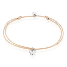 Bracelet Papyi Argent Blanc - Bracelets Papillon Femme | Histoire d'Or