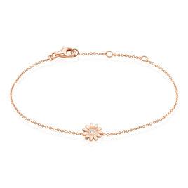 Bracelet Brigit Argent Rose Oxyde De Zirconium - Bracelets fantaisie Femme | Histoire d'Or
