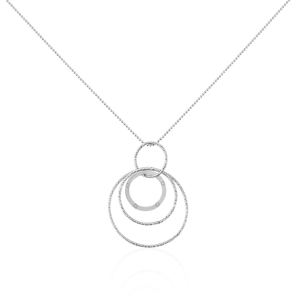 Collier Mayuka Argent Blanc - Colliers fantaisie Femme | Histoire d'Or
