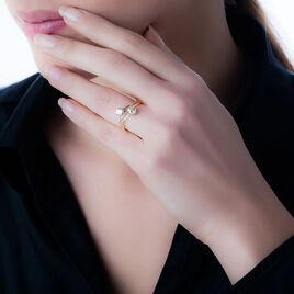 Bague Odete Or Jaune Oxyde De Zirconium - Bagues avec pierre Femme | Histoire d'Or