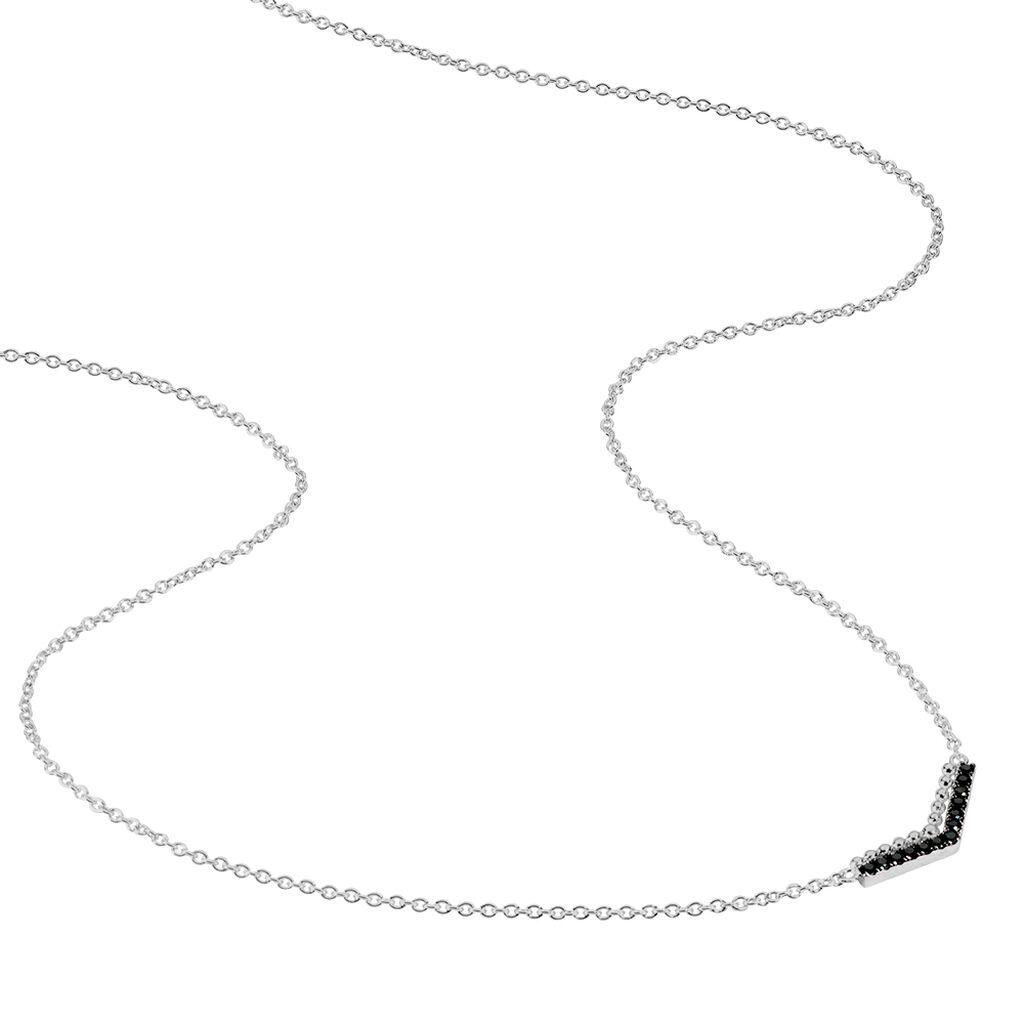 Collier Irina Argent Blanc Oxyde De Zirconium - Colliers fantaisie Femme | Histoire d'Or