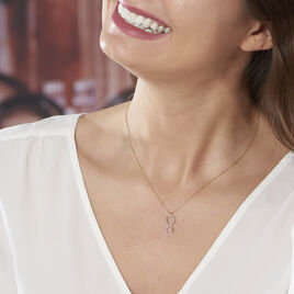 Collier Infino Or Jaune Diamant - Colliers Infini Femme | Histoire d'Or
