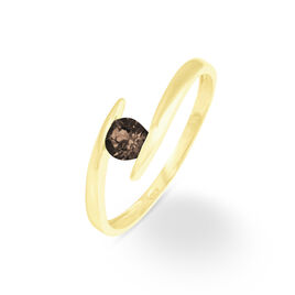 Bague Tiphaine Or Jaune Quartz - Bagues avec pierre Femme | Histoire d'Or