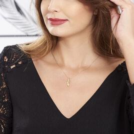 Collier Celso Plaque Or Jaune - Bijoux Femme | Histoire d'Or