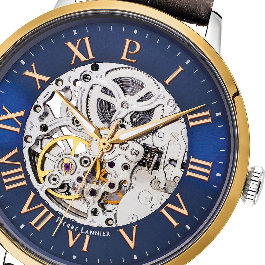 Montre Pierre Lannier Collection Automatic Bleu - Montres automatiques Homme   Histoire d'Or