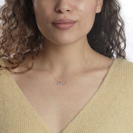 Collier Maryeme Infini Diamante Or Jaune - Colliers Infini Femme   Histoire d'Or