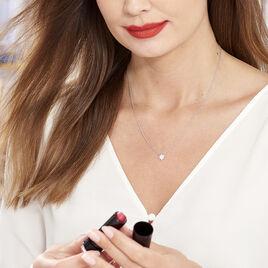 Collier Speranza Argent Blanc Oxyde De Zirconium - Colliers Etoile Femme | Histoire d'Or