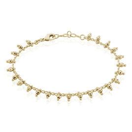 Bracelet Plaque Or Neria Boules - Bracelets fantaisie Femme | Histoire d'Or