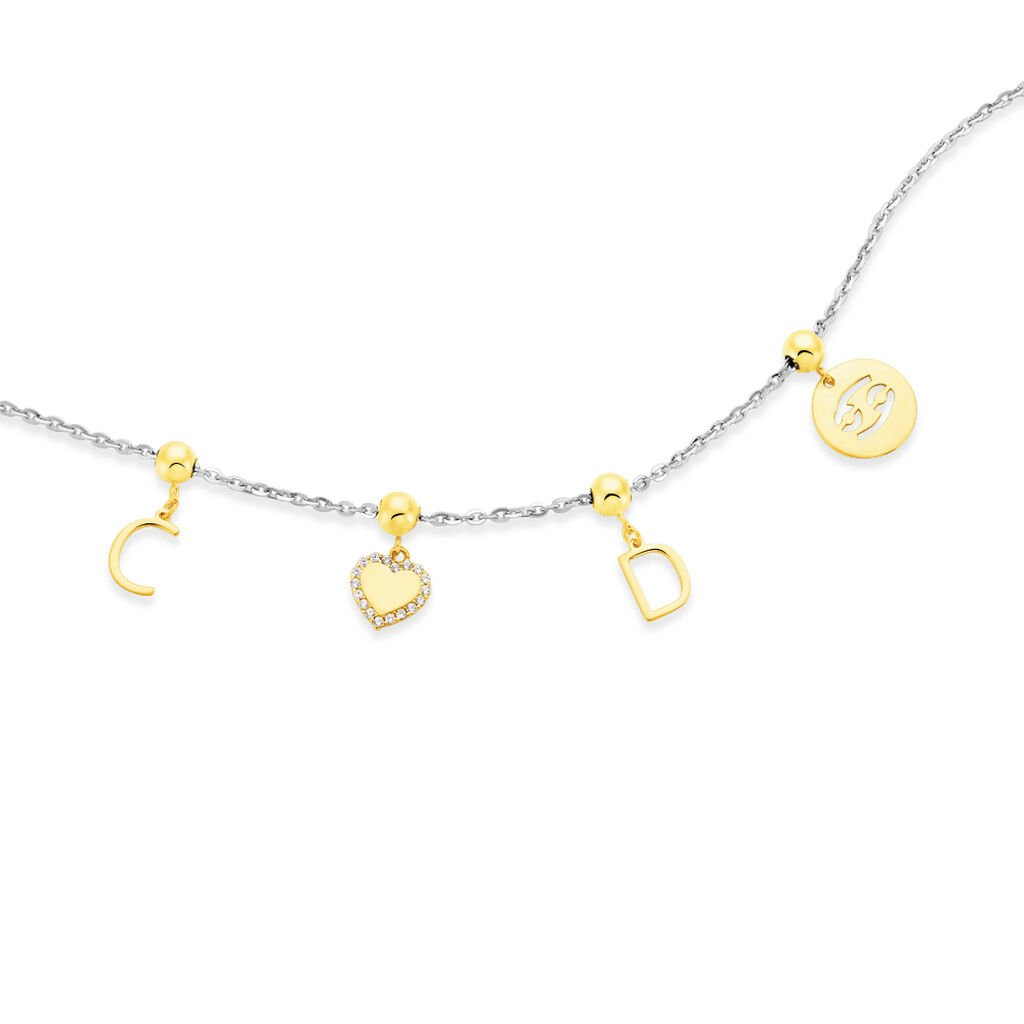 Charms Keisha Or Jaune - Charms Femme | Histoire d'Or
