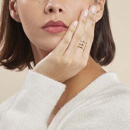 Bague Adel Acier Jaune - Bagues fantaisie Femme | Histoire d'Or