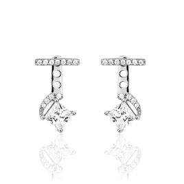 Bijoux D'oreilles Clotilda Or Blanc  - Ear cuffs Femme   Histoire d'Or