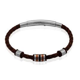 Bracelet Paulin Acier Tricolore - Bracelets fantaisie Homme   Histoire d'Or