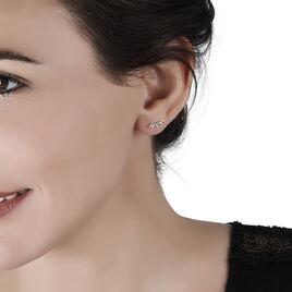Boucles D'oreilles Puces Or Jaune Cœur - Clous d'oreilles Femme | Histoire d'Or
