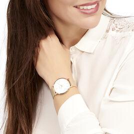 Montre Cluse Minuit Blanc - Montres Femme   Histoire d'Or