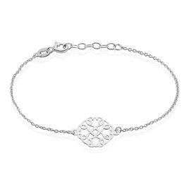 Bracelet Lev Argent Blanc - Bracelets fantaisie Femme   Histoire d'Or