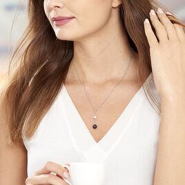 Collier Lucia Cera Argent Blanc Perle De Culture Et Céramique - Colliers fantaisie Femme | Histoire d'Or