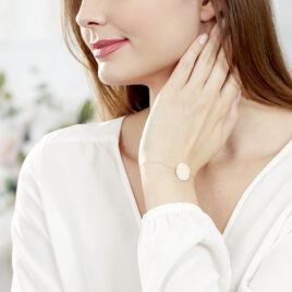 Bracelet Pastille Gravable Or Rose - Bijoux Femme | Histoire d'Or