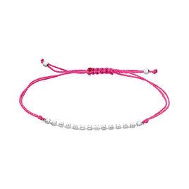 Bracelet Jordanneae Argent Blanc Oxyde De Zirconium - Bracelets cordon Femme | Histoire d'Or