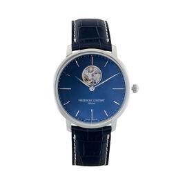 Montre Frederique Constant Slimline Bleu - Montres automatiques Homme   Histoire d'Or